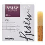 D'Addario Woodwinds Reserve Clarinet Classic 4,0