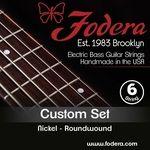 Fodera 6-String Set Custom Nickel