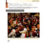 Alfred Music Publishing Wedding Music: Selected Guitar