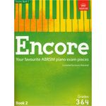 ABRSM Publishing Encore Book 2 Grades 3&4 Piano