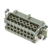 Harting 16pin Female Multipin Chassis