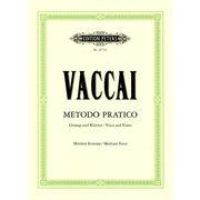 C.F. Peters Vaccai Metodo Canto Medium