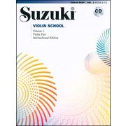 Alfred Music Publishing Suzuki Violin School Vol.1+CD