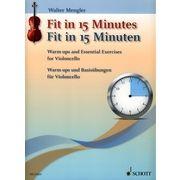 Schott Fit In 15 Minutes Cello