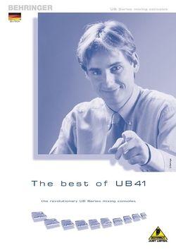 Folder der UB-Serie in Deutsch