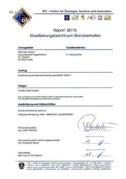 Zertifikat Wollfilz