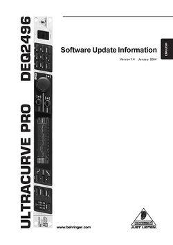 Software Update Info