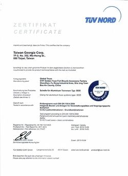 TÜV Zertifikat