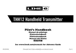 Manual: Transmitter
