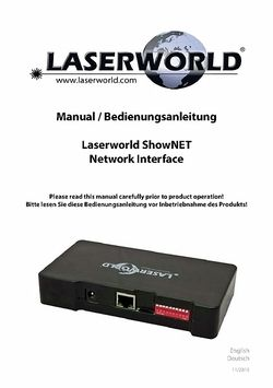 Manual: ShowNET