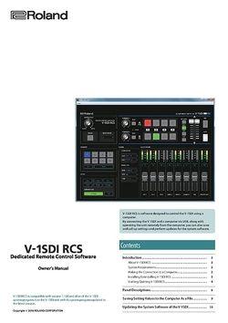 Manual: Control software