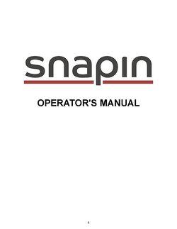 Manual Snapins