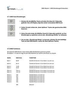 MIDI Instructions