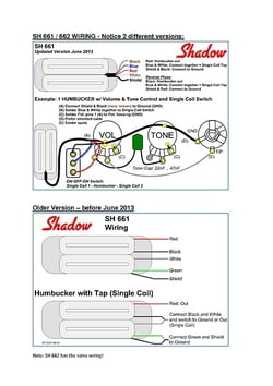 shadow sh661 4 conductor th n uk wiring