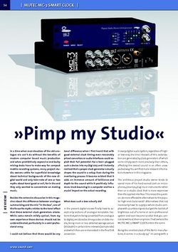 "Review ""Pimp My Studio"""