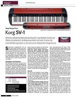 KEYS Korg SV-1