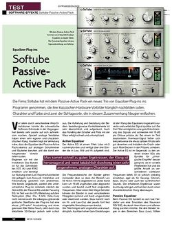 KEYS Softube Passive-Active Pack