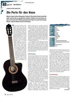 Guitar gear Akustikgitarre - La Mancha Perla Negra CWE