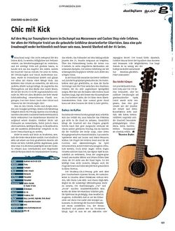 Guitar gear Akustikgitarre - Stanford 46-04-CO-ECW