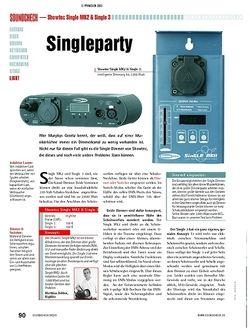 Soundcheck Test: Showtec Single MK2 & Single 3 - Single-Dimmer