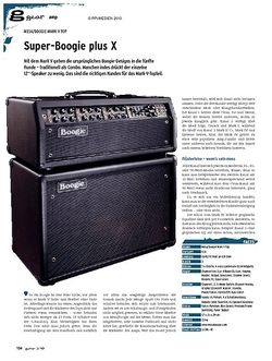 Guitar gear Amp - Mesa/Boogie Mark V Top