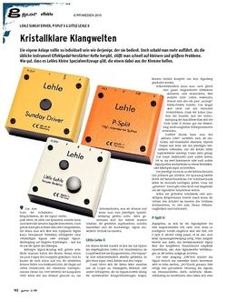 Guitar gear Effekte - Lehle Sunday Driver, P-Split II & Little Lehle II