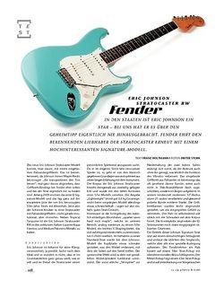 Gitarre & Bass Fender Eric Johnson Stratocaster RW