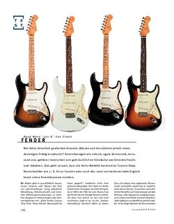 Gitarre & Bass Fender Road Worn '50s & '60s Strats, E-Gitarren