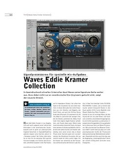 Sound & Recording Waves Eddie Kramer Collection
