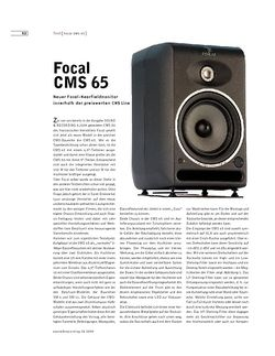 Sound & Recording Focal CMS 65