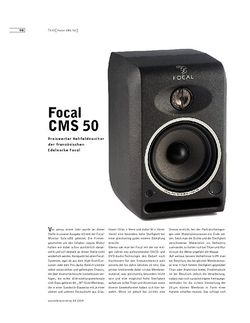 Sound & Recording Focal CMS 50