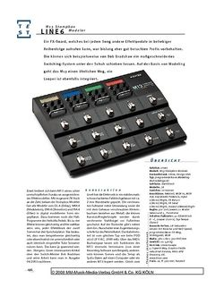 Gitarre & Bass Line6 M13 Stompbox Modeler, Multi-FX
