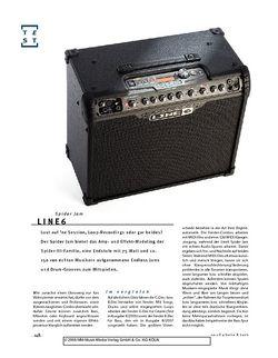 Gitarre & Bass Line6 Spider Jam