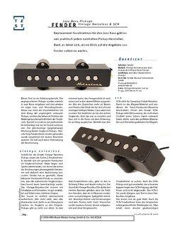Gitarre & Bass Fender Jazz Bass Jazz Bass Pickups Vintage Noiseless & SCN