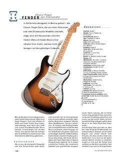 Gitarre & Bass Fender Classic Player 50s Stratocaster, E-Gitarre