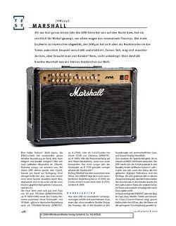 Gitarre & Bass Marshall JVM205C, Gitarren-Combo
