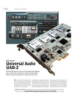 Sound & Recording Universal Audio UAD-2