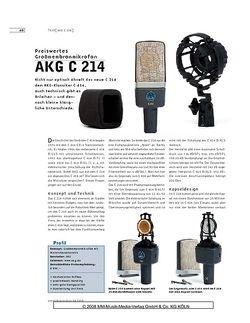Sound & Recording AKG C 214