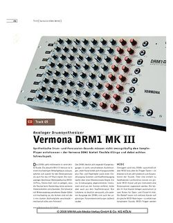 Sound & Recording Vermona DRM1 MK III