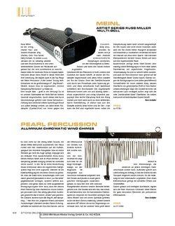 Sticks Meinl Artist Series Russ Miller Multi-Bell
