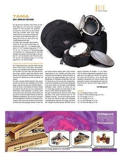Sticks Tama DX Drum Bags