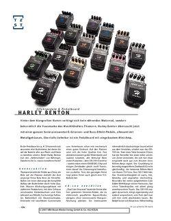 Gitarre & Bass Harley Benton Effektpedale & Pedalboard