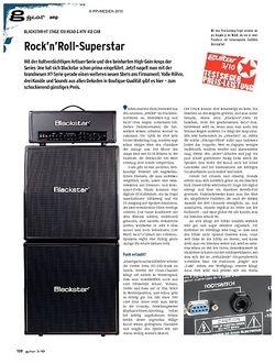 Guitar gear Amp - Blackstar HT Stage 100 Head & HTV 412 Cab