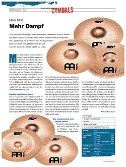 DrumHeads Instrumente & Technik: Meinl MB8
