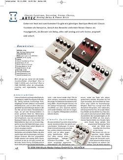 Gitarre & Bass Artec Gitarren-Effektpedale