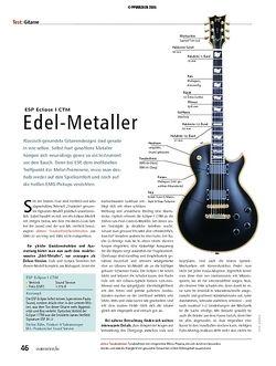 Soundcheck Test - E-Gitarre: ESP Eclipse I CTM