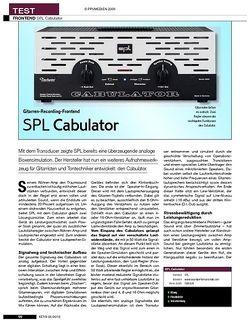 KEYS SPL Cabulator