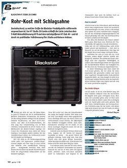 Guitar gear Amp - Blackstar HT Studio 20 Combo