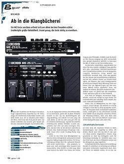 Guitar gear Effekte - Boss ME-25
