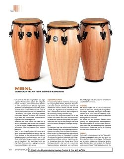 Sticks Meinl Luis Conte Artist Series Congas